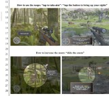 Glu says Kill Shot, right, is a copy of Deer Hunter 2014, left.
