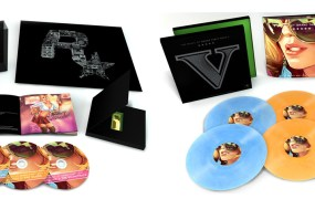 The CD and vinyl box sets of GTA V music from Rockstar Games.