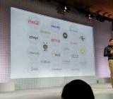 Joerg Heilig, vice president of engineering for cloud developer experience at Google, speaks at the Google Cloud Platform Live event in San Francisco on Nov. 4.