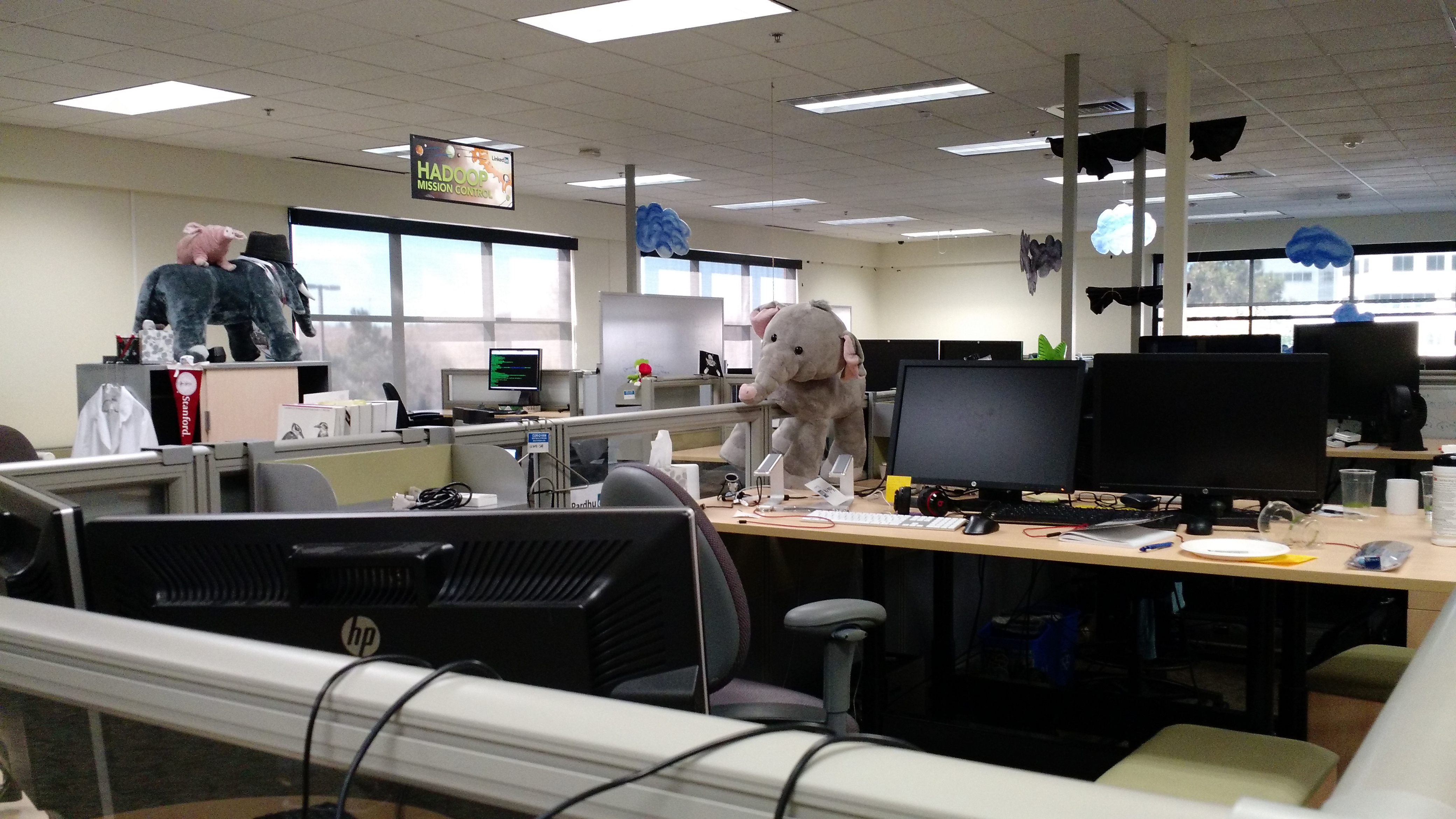Inside LinkedIn headquarters in Mountain View, Calif.