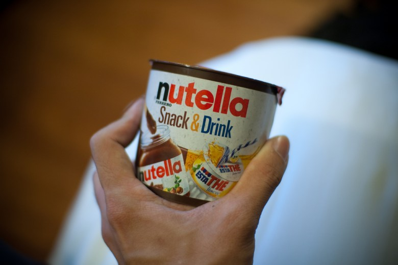 Nutella Jonathan Lin Flickr
