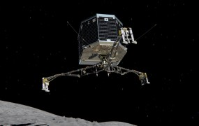An artist's rendering of the Philae lander.