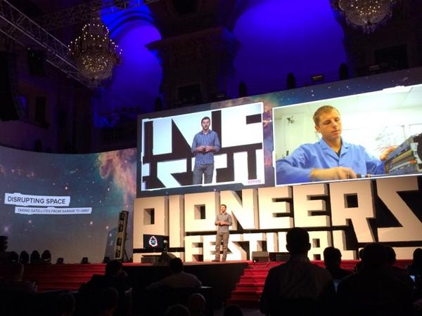 Mike Safyan of Planet Labs talks about Disrupting Space at the Pioneers Festival in Vienna.