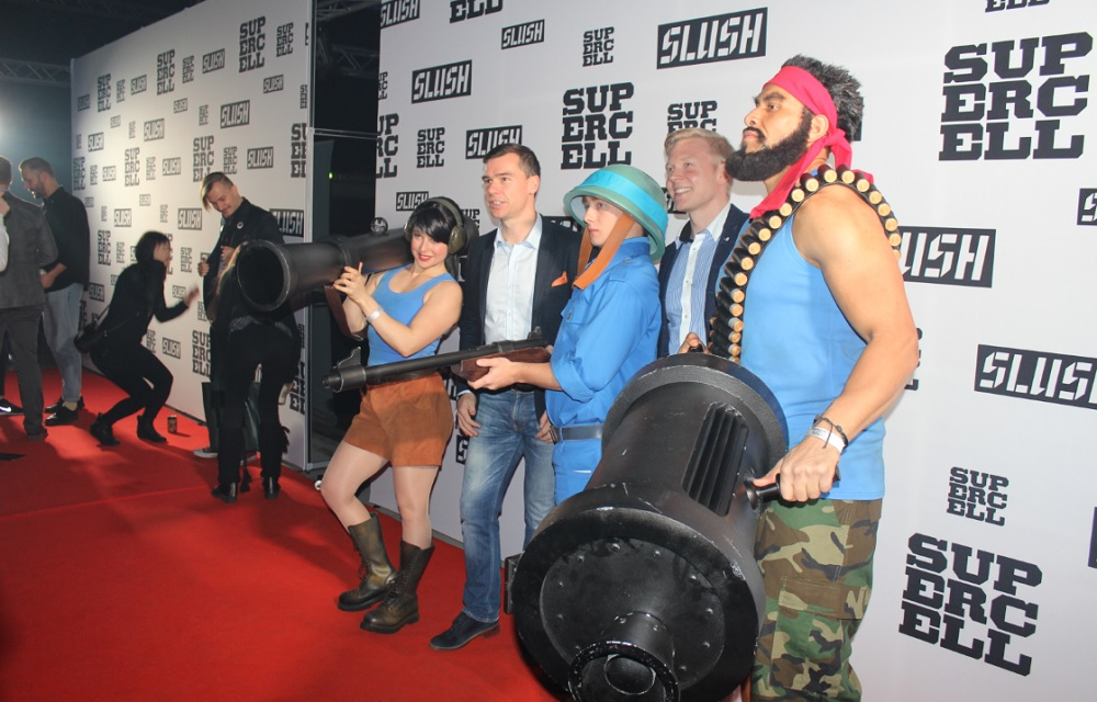 Supercell-sponsored after-party at Slush 2014