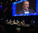 Tim Berners-Lee, creator of the World Wide Web, speaks at LeWeb 2014.