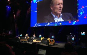 Tim Berners-Lee, creator of the World Wide Web, speaks at LeWeb 2014.