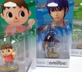 Three of the rarest Amiibo characters.