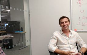 DigitalOcean cofounder and chief executive Ben Uretsky at the company's headquarters in New York on Dec. 10.