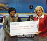 Donation check JAXPORT Flickr
