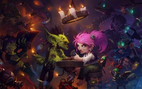 Hearthstone's newest expansion takes a light-hearted approach.