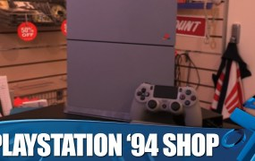 The PlayStation '94 shop sold 94 20th anniversary PS4 consoles at a knock-down price.