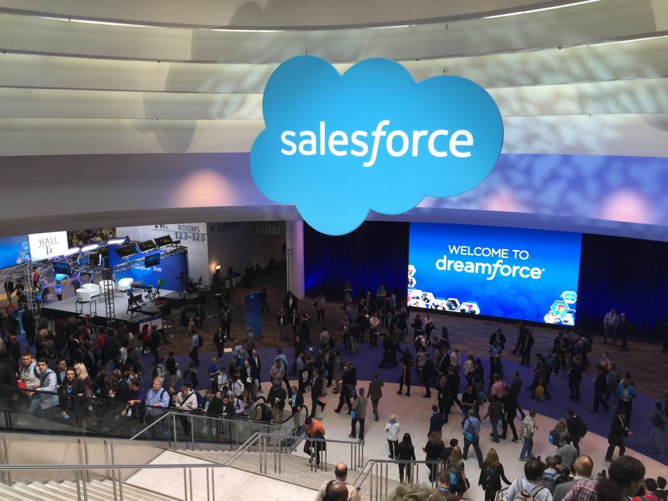 Salesforce Dreamforce Dion Hinchcliffe Flickr