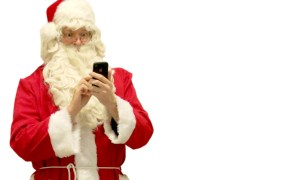 Santa phone Matti Mattila Flickr