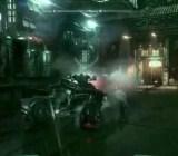 Action from Batman: Arkham Knight.