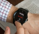 Awear lets you send texts via touch on your smart watch.