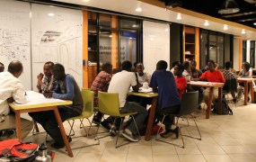 The kLab tech co-working space in Kigali, Rwanda