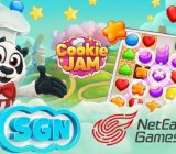 SGN teams up with NetEase Games to launch Cookie Jam in China.