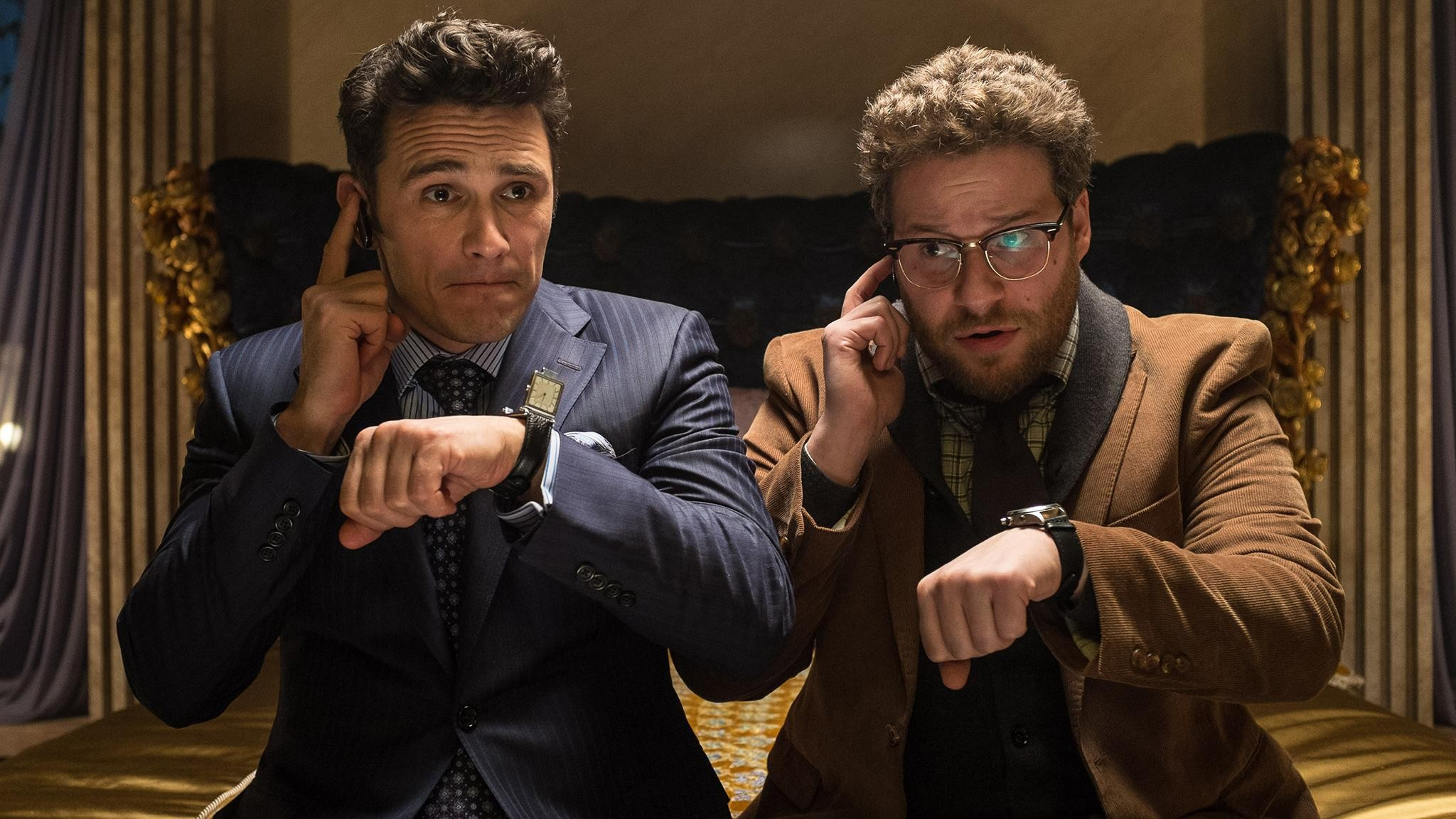 """A still from Sony Pictures' """"The Interview"""""""