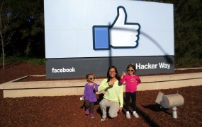 Facebook headquarters in Menlo Park, Calif.