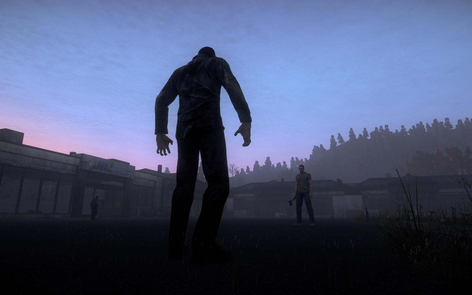 Daybreak's in-the-works zombie game H1Z1.