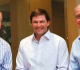 From left, Jeb Miller, Tom Mawhinney, and Joe Horowitz of Icon Ventures.