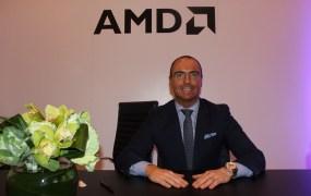 AMD executive John Byrne at CES 2015.