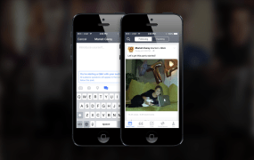 Facebook's Mentions app lets stars interact directly with fans.