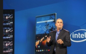 Brian Krzanich of Intel at CES 2015