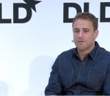 Slack co-founder Stewart Butterfield speaking at DLD 15 in Munich, Germany.