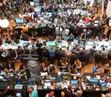 The indie games section at Casual Connect was always buzzing with activity.
