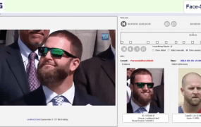 Face-Six's algorithms can identify people even if they're wearing glasses, or have grown a beard, the company says.