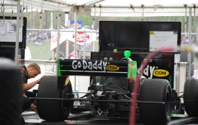 GoDaddy racecar Hans J E Flickr