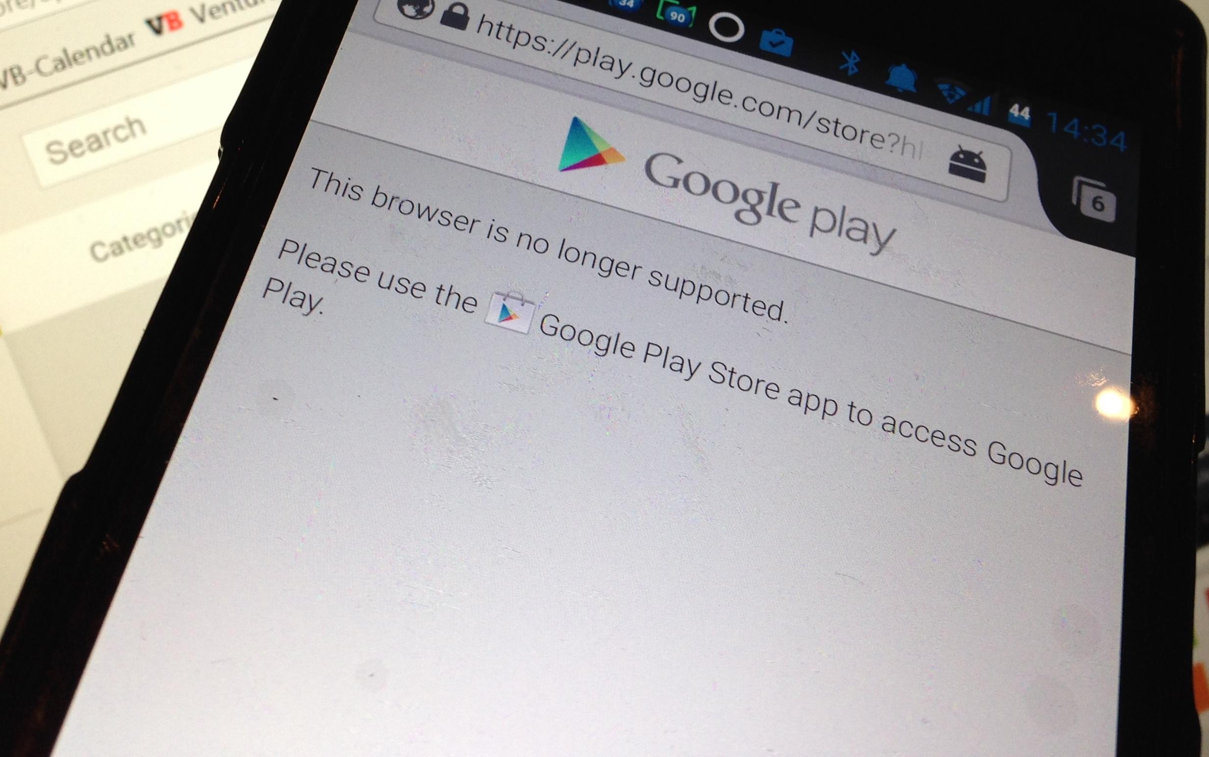 Google Play Firefox