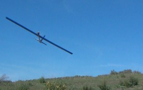 XAir's fixed-wing drone can fly for hours on wind power alone.