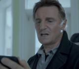 Liam Neeson in the Clash of Clans commercial.