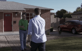Dominic Santos sells his home with Opendoor in Phoenix.