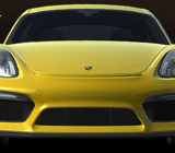 The new Porsche Cayman GT4, which you can experience first in Real Racing 3.