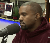 Kanye West speaking to The Breakfast Club about his video game.