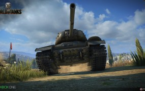 World of Tanks looks pretty on Xbox One. Wait, can tanks look pretty?