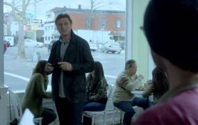 Liam Neeson in the Clash of Clans ad.