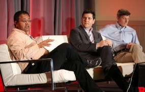 Ashu Garg of Foundation Capital, Jeremy Wacksman of Zillow, and Doug Milliken of Clorox.