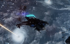 Star Citizen's combat in action.