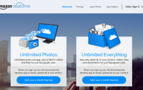 Amazon Cloud Drive Unlimited