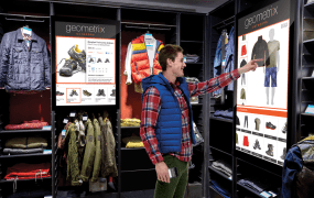 Interactive screens in retailers are now full-fledged citizens in Adobe's Marketing Cloud.