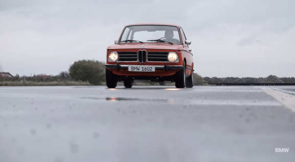 BMW's first electric car -- from 1972.