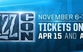 BlizzCon is coming.