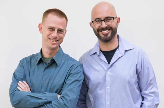 Eishay Smith and Danny Blumenfeld, cofounders of Kifi.