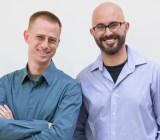 Eishay Smith and Danny Blumenfeld, cofounders of Kifi.