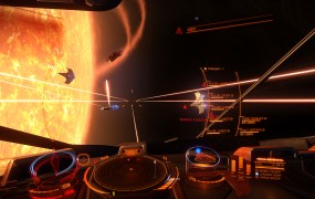 It's time to frag some spaceships in Elite: Dangerous on the Xbox One.