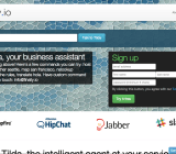 The Finally.io homepage earlier today. The homepage has since changed.